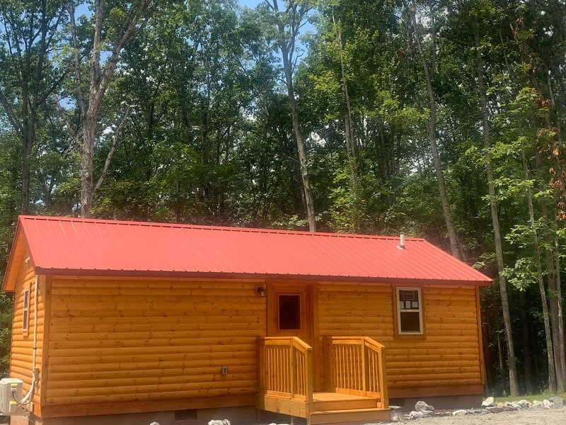 NEWLY BUILT CABIN! Hot Tub - Close to Asheville, holiday rental in Weaverville