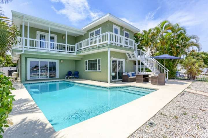 Spectacular Waterfront Home with Boat Dock, Short Walk to Beach! Private Pool! ~, holiday rental in Belleair Bluffs