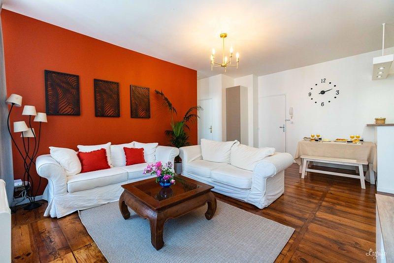 Charmant T3 de 56 m² idéalement placé au centre de Bayonne proche gare, vacation rental in Bayonne