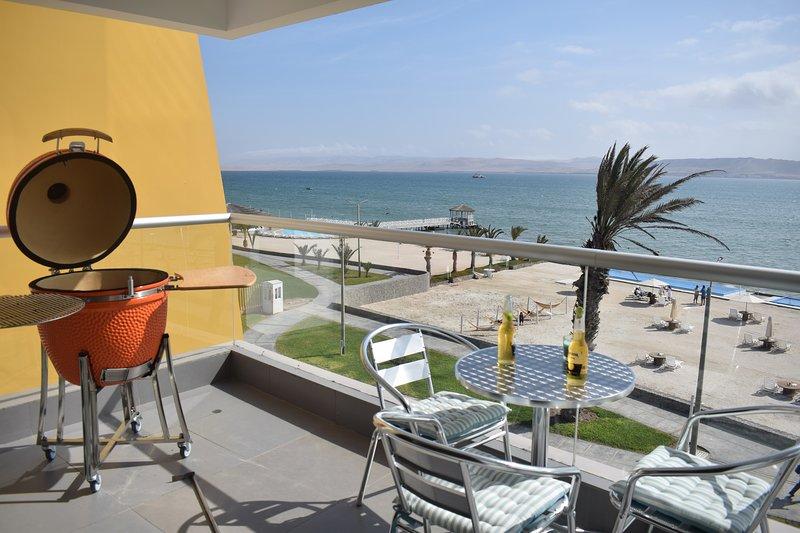 Ocean View Apartment in Paracas, vacation rental in Paracas