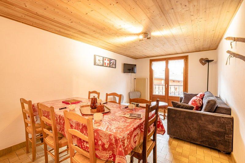 appartement en centre station, aluguéis de temporada em Haute-Savoie
