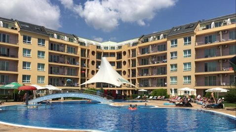 Pollo Resort - Nessebar Studio Apartment, alquiler vacacional en Nessebar