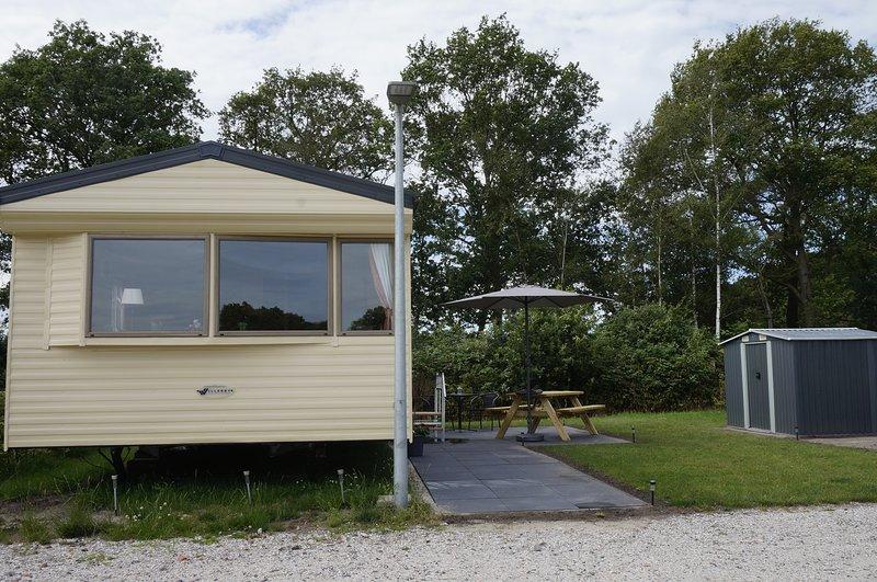 Weerribben Chalet de Otter - Paasloo Giethoorn, casa vacanza a Emmeloord