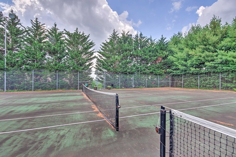Who's up for a round of tennis?