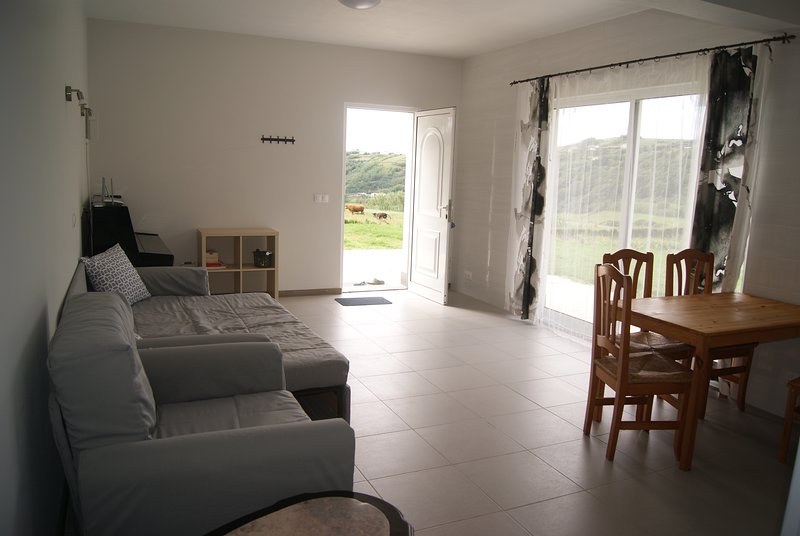 Nice house with sea view & terrace, vacation rental in Praia do Norte