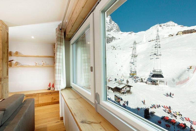 Maison Rêve Blanc, Ferienwohnung in Valtournenche