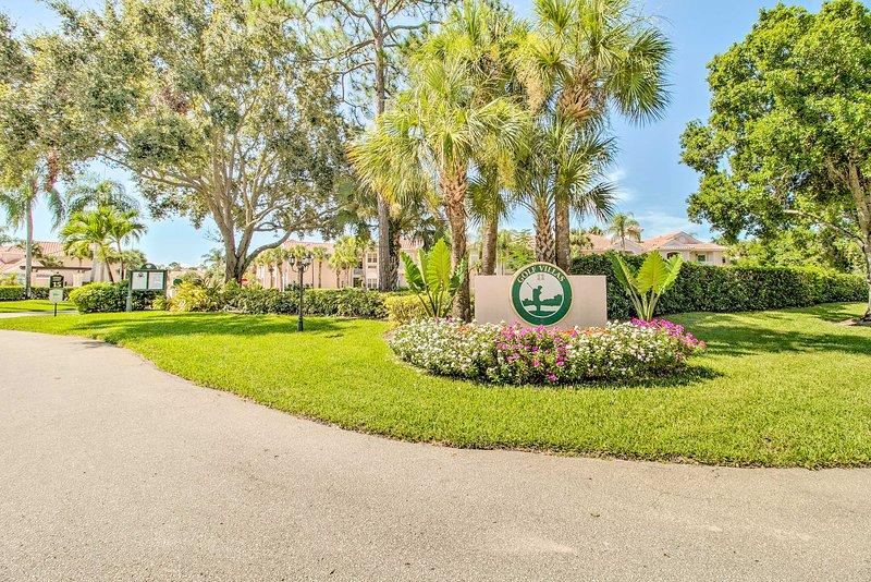 Du kommer snart att bli kär i Golf Villas.