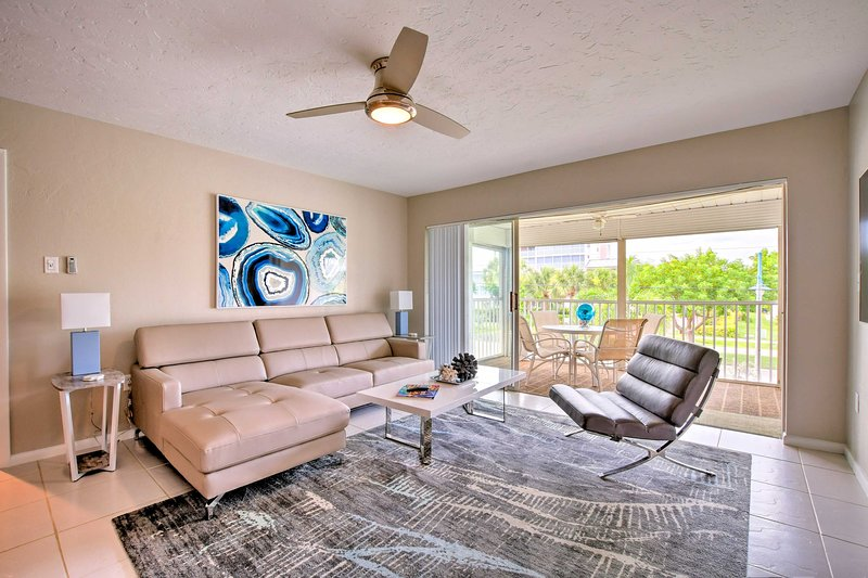 Book your Marco Island beach retreat at this beautiful 2-bedroom, 2-bath condo!