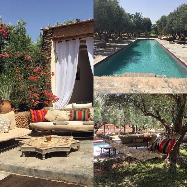 """Um """"paraíso"""" para ficar! Bela villa autêntica é em uma grande propriedade com oliveiras e agaves."""