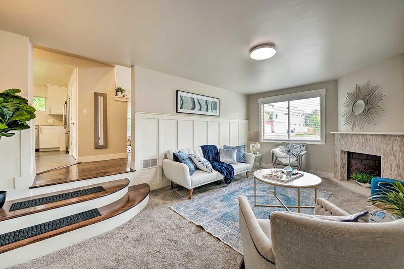 Chic Home w/ Mtn Views - 9 Miles to Downtown SLC!, vacation rental in Taylorsville