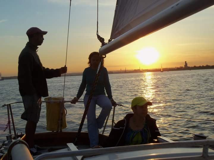 Enjoy a beautiful evening on the water