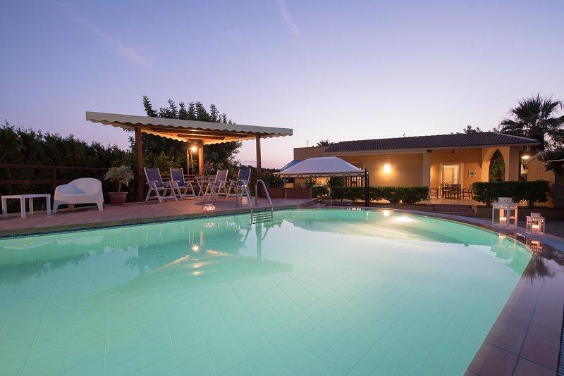 Villa Candiano, holiday rental in Sampieri