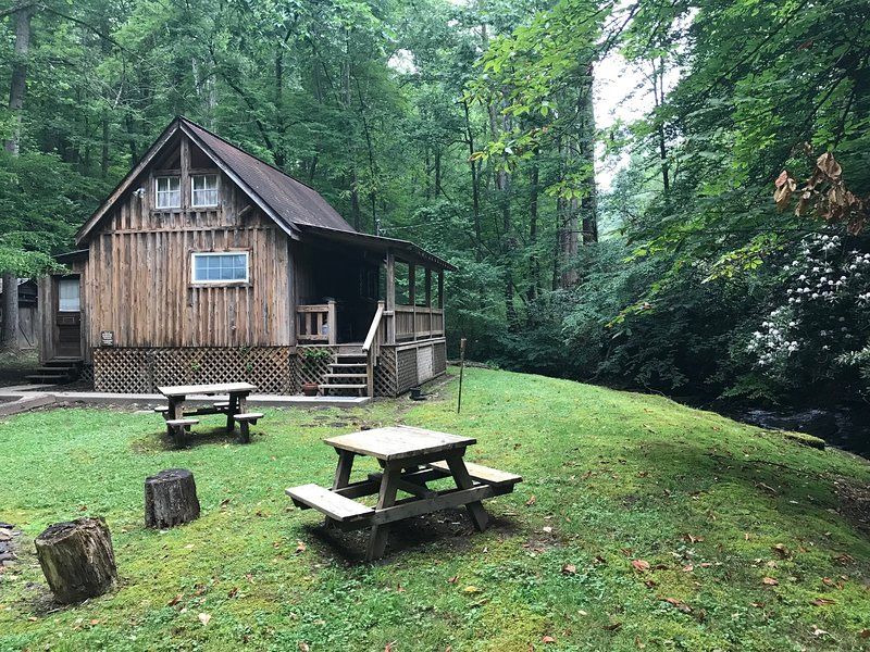 Rustic Cabin by the Creek, holiday rental in Summersville