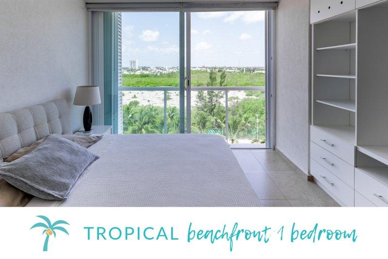 * Apartamento tropical no mar *