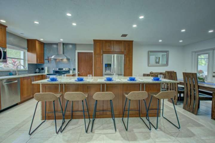 Beautiful large updated kitchen with all you need to make your favorite dish.