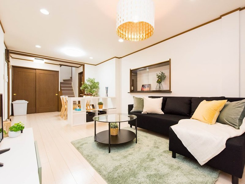 DGNPBB Nipponbashi Namba Dotonbori Shinseikai Apartment #B 6ppl, holiday rental in Dotombori