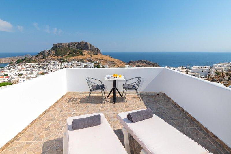 Flora Studio with Acropolis View, vacation rental in Lindos