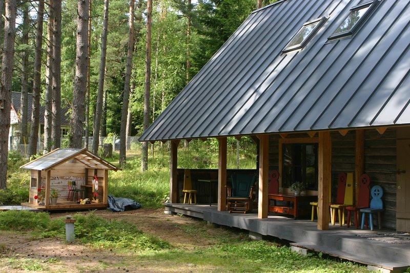 Andres' House Estonia Lahemaa National Park – semesterbostad i Kasmu