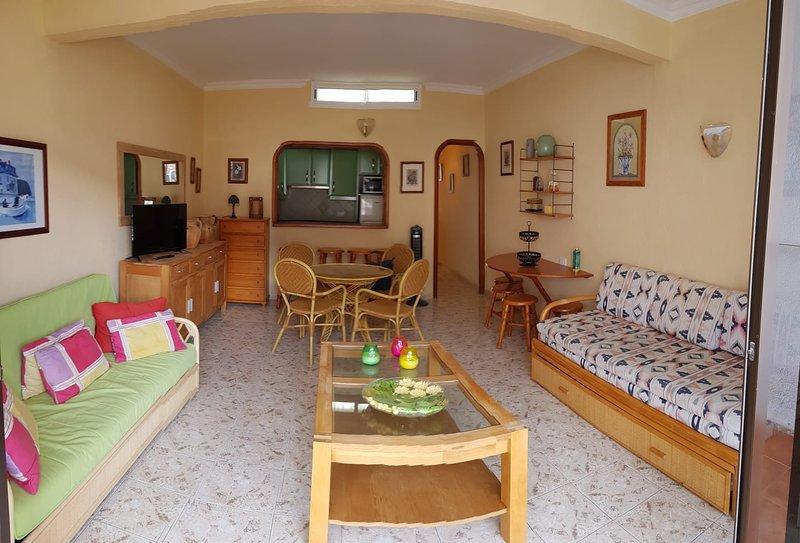 Bungalow in Santiago del Teide, holiday rental in Acantilado de los Gigantes