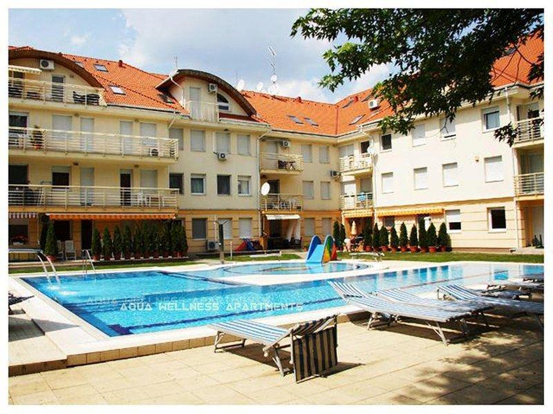 Aqua Wellness Apartments, casa vacanza a Debrecen