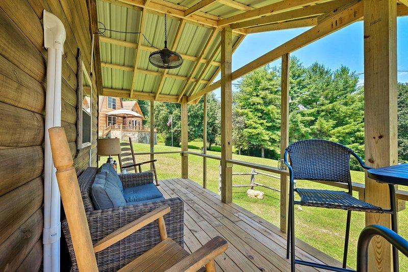 Die Nachmittage verbringen Sie am besten auf der Veranda!