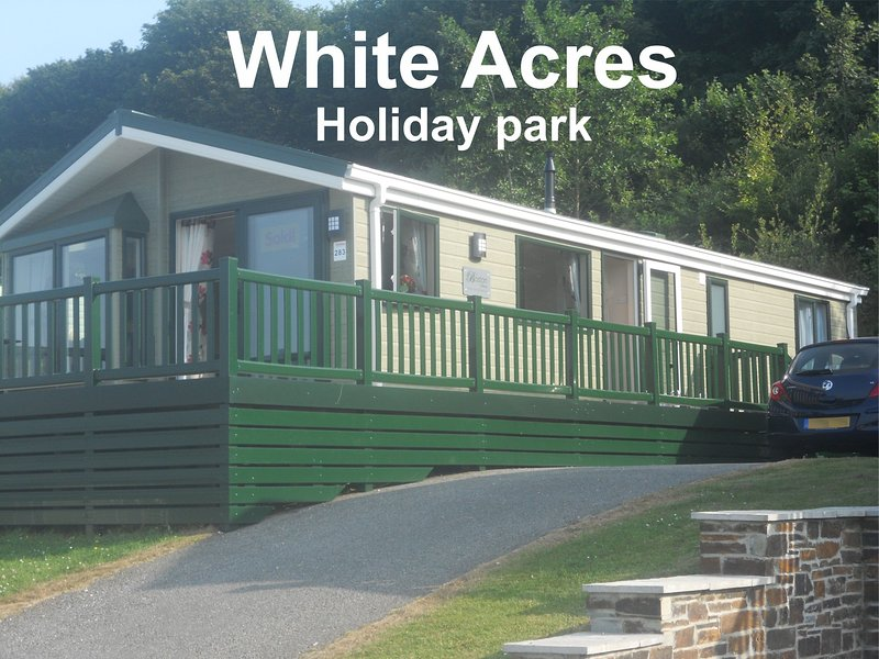 White Cross, Newquay, Cornwall, White Acres, TR8 4LW. Lodge 283, location de vacances à Indian Queens