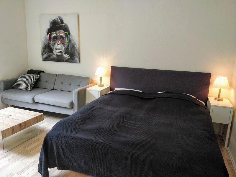 Studio Apartment with Patio - Provstegården Bed & Breakfast, casa vacanza a Bryrup