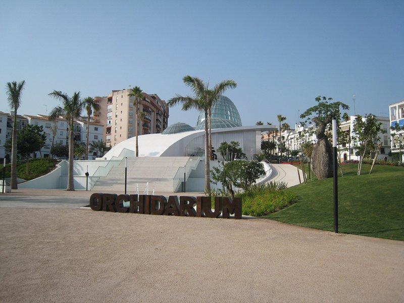 Orchidarium en Estepona