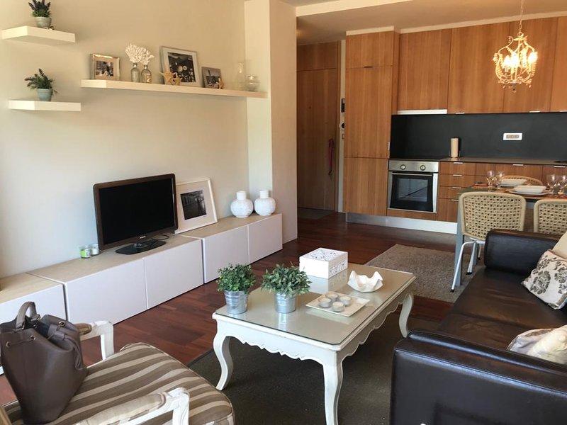 Apartamento de lujo con vistas al mar, holiday rental in Illa de Arousa