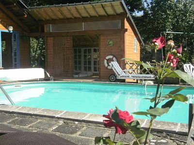 Beautiful apt with shared pool, holiday rental in Saint-Pierre-le-Chastel