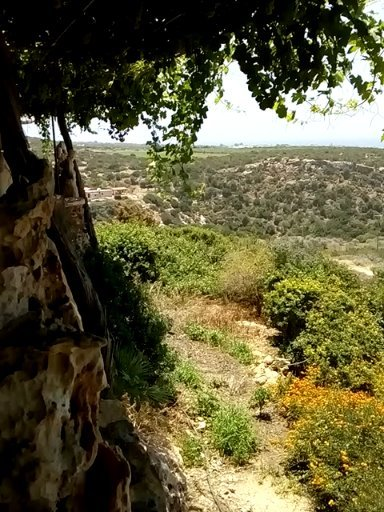 View from The Last Castle restaurant in Akamas