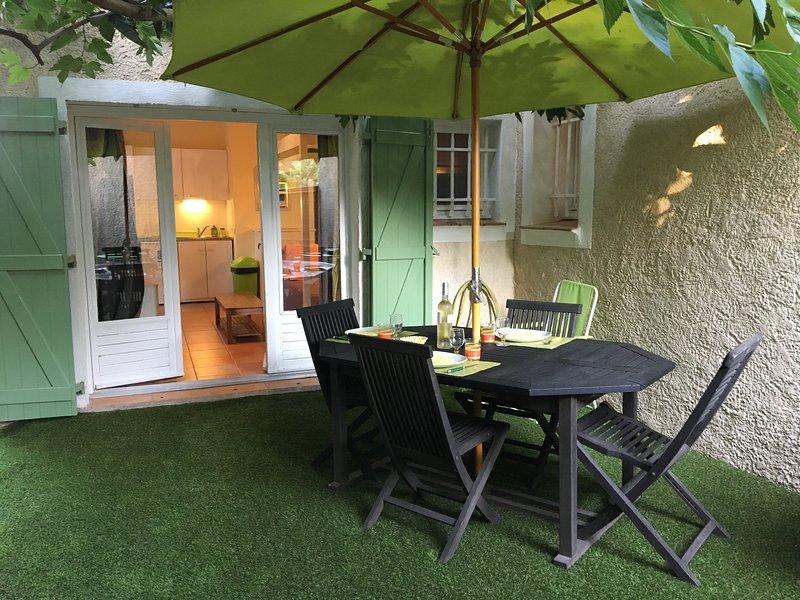 Terrasse ombragée 17 m2
