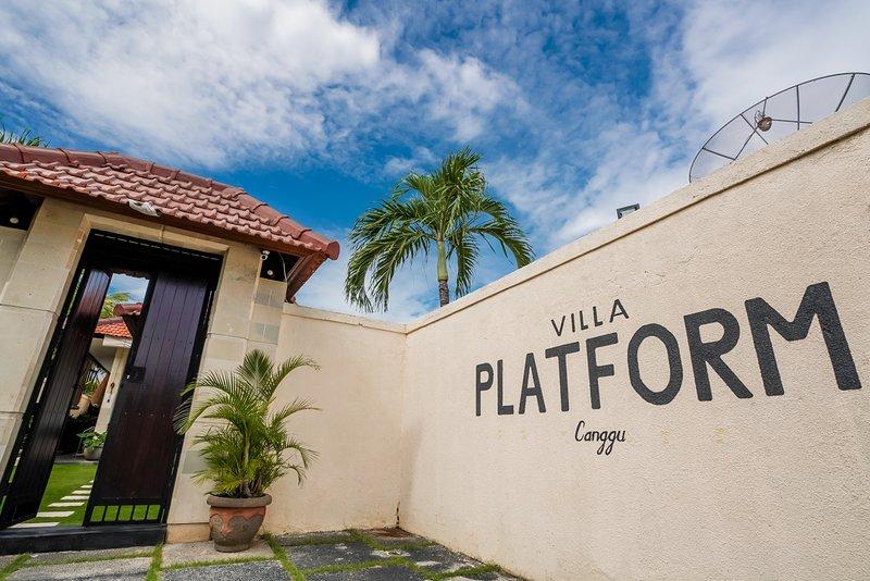 Villa Platform Canggu, Bali, vakantiewoning in Pererenan