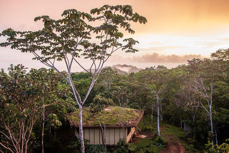 Casa Mexicana- Unique Eco-home with Ocean and Jungle View, alquiler de vacaciones en Playa Hermosa