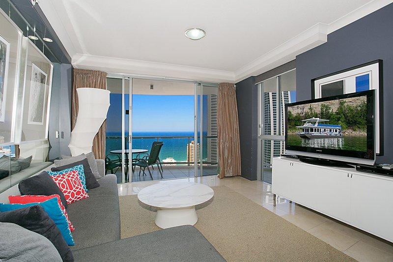 HRSP Chevron Renaissance Apt 2305 - 2 BR Level 30 (2Q) - Ocean Views, location de vacances à Surfers Paradise