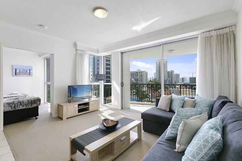 GCHR Chevron Renaissance Apt 1092 - 2 BR Level 9 (1Q+2S), location de vacances à Surfers Paradise