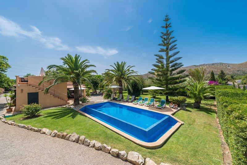 CASA ANGELA - Villa for 8 people in Capdepera, holiday rental in Cala Mesquida