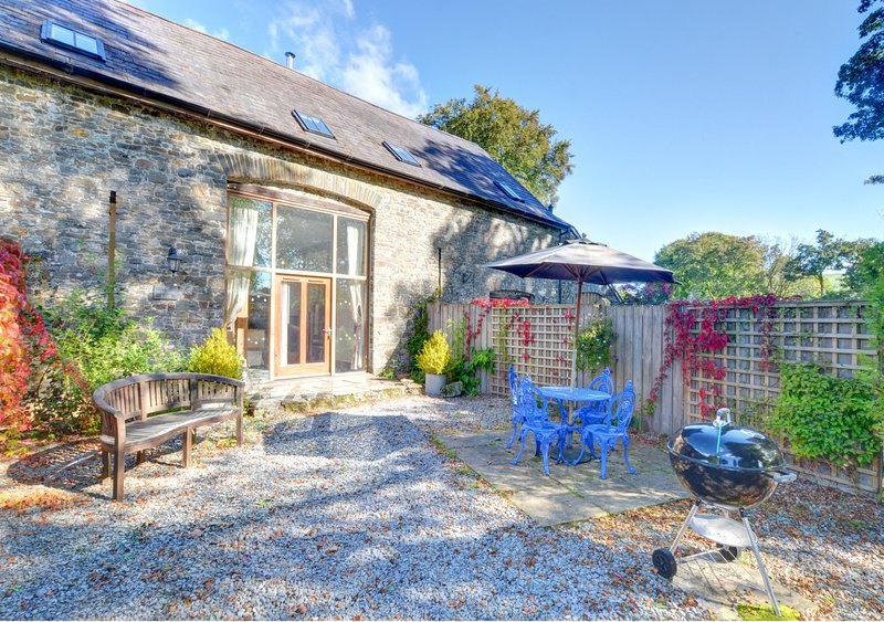 Glanrannell Barn, holiday rental in Pumsaint