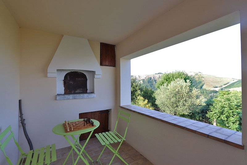 Casale San Basso - Small panoramic lodge on the first floor