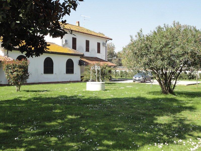 TENUTA DI VADO PIANO NELLA SELVA DI CIRCE, holiday rental in Sabaudia