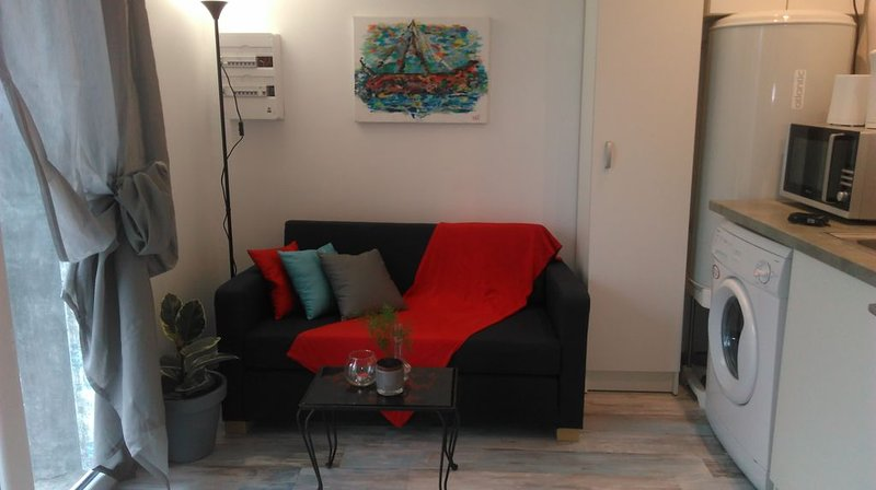 Nice studio with garden & terrace, holiday rental in Puilboreau