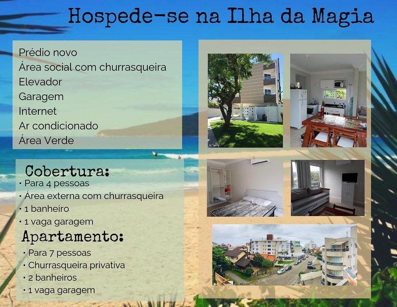 COBERTURA VISTA PARA O MAR - INGLESES, FLORIANÓPOLIS, SC, location de vacances à Ingleses