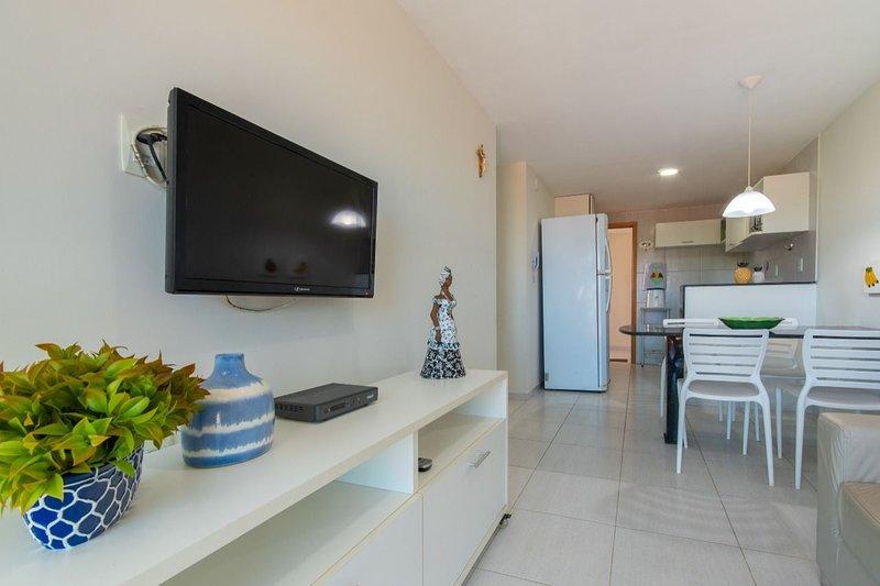 Ocean Residence - Apto 3 quartos no Centro de Porto (302*), alquiler vacacional en Maracaipe