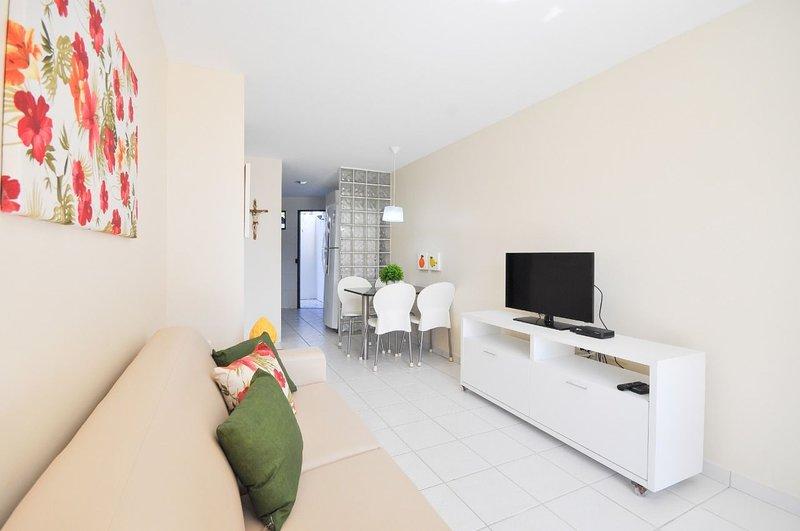 Merepe Residence - Apto 2 quartos no Centro de Porto (08), alquiler vacacional en Maracaipe