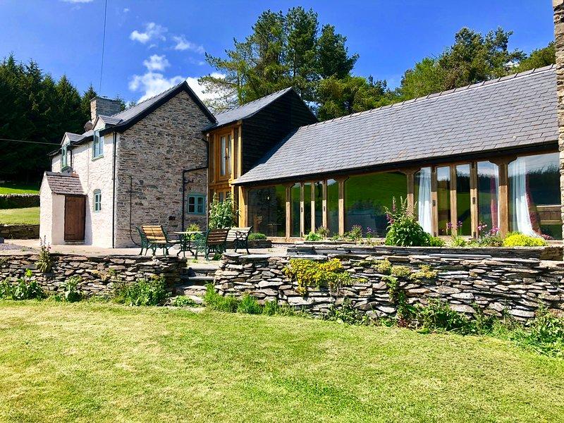 Pant Dafydd Goch, Llangollen, Ferienwohnung in Selattyn
