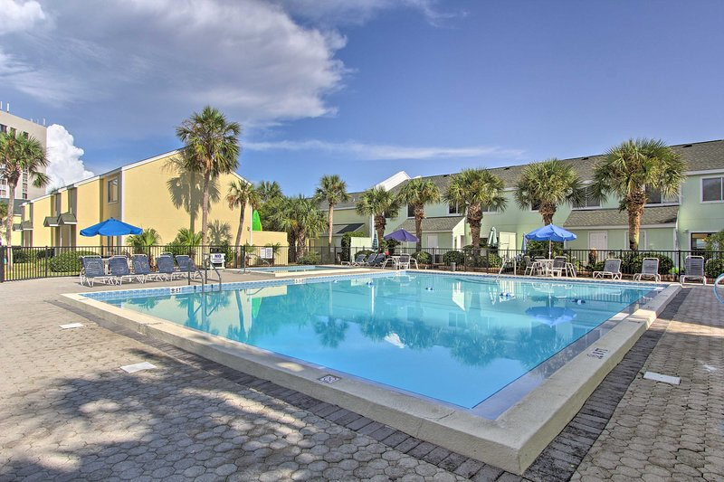 Escape to sunny Florida and stay at this vacation rental!