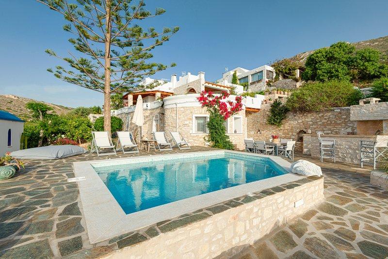 Villa Haritomeni 2, location de vacances à Agios Charalampos