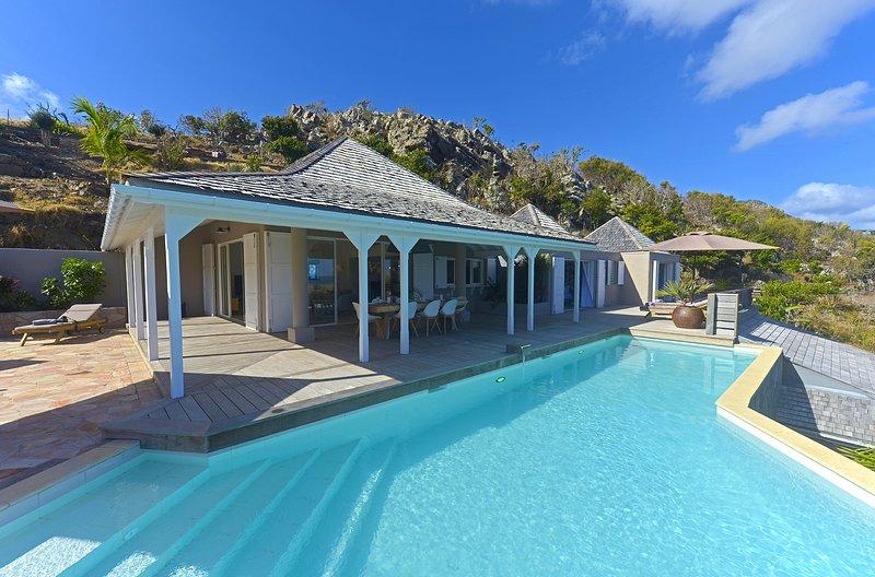 Villa Lagon Rose, location de vacances à Petit Cul de Sac