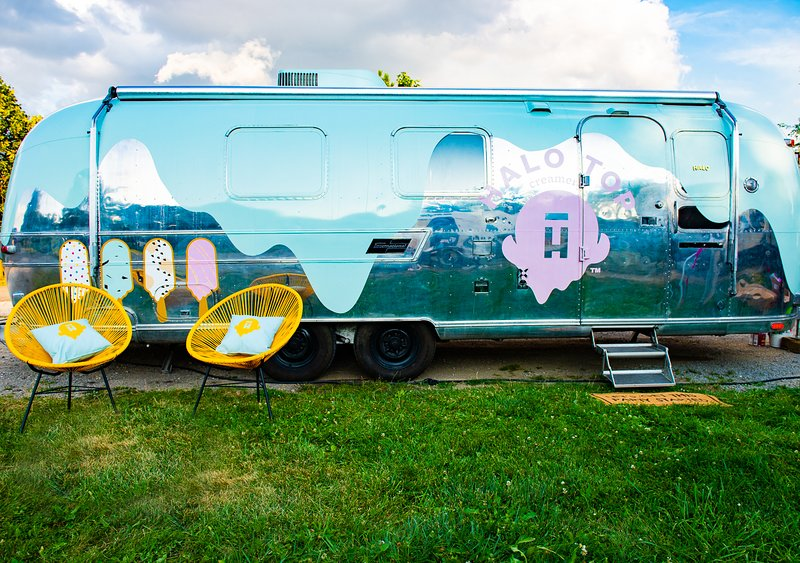 Halo Top Airstream, aluguéis de temporada em Parrsboro