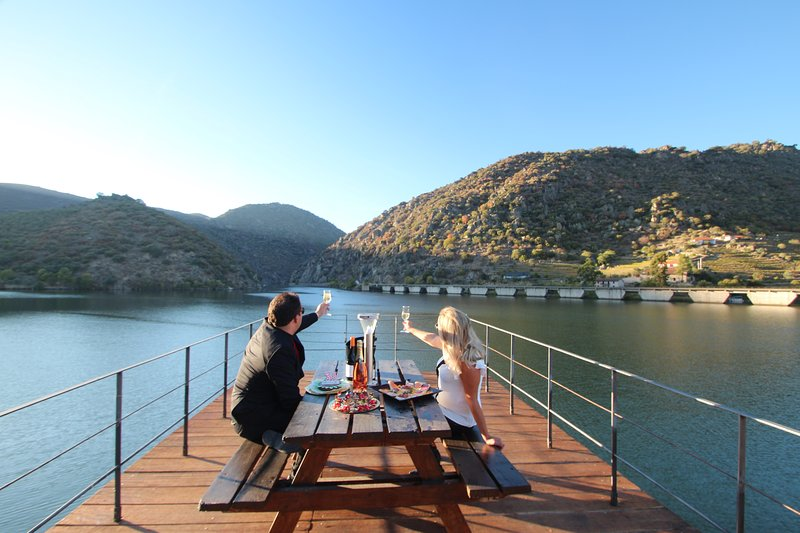 DOURO RIVERSIDE CHALET - DOUROWAY, vacation rental in Meda